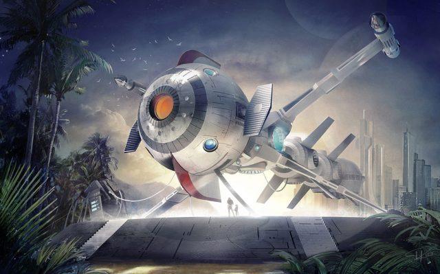Captain Future Deutsche Realverfilmung der Animeserie kommt zurück Komet Raumschiff
