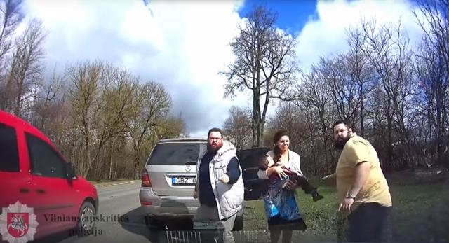 Heftig Polizeiaktion Litauen geht um die Welt
