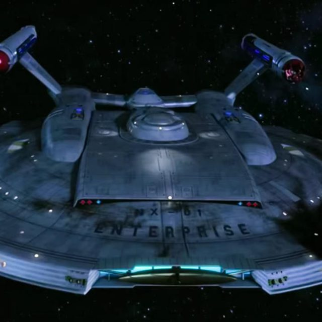 Star Trek ENTERPRISE II Der Anfang vom Ende captain jonathan archer scifi fan film raumschiff warp