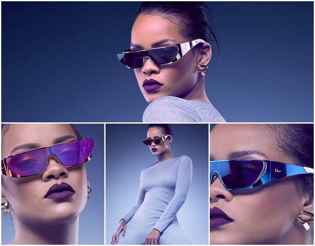 X Dior Jean-Baptiste Mondino - Rihanna Sonnenbrillen