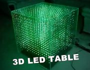3d led table borg cube enterprise infinity mirror