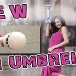 "Revolution neuer Regenschirm mit Kraftfeld "" Air Umbrella """