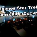 Vom Wohnzimmer ins Weltall Deutscher baut sich Raumschiff-Cockpit
