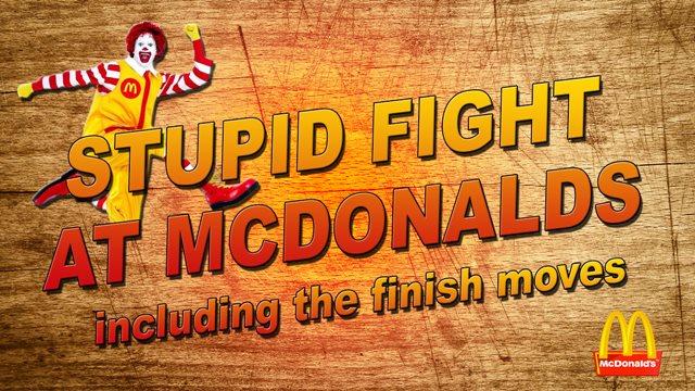 McDonalds Breakfast Degenerates Epic Breakfast Fight at McDonalds