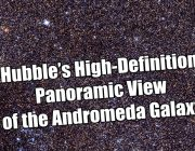 Hubble's High-Definition Panoramic View of the Andromeda Galaxy