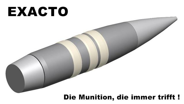 """""""Exacto""""- Projekt des Pentagon – Die Munition, die immer trifft"""