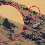 Rätselhaftes Bild Roboter Curiosity entdeckt Pyramide auf Mars