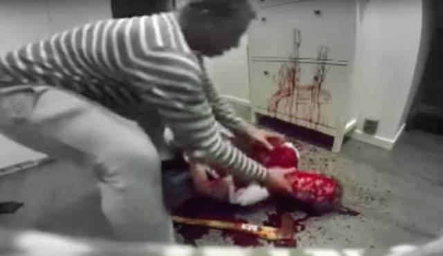 Most horrifying horror prank ever