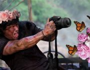 rambo butterfly funny picture photoshop fun (3)
