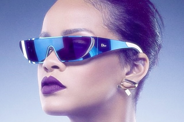 Rihanna x Dior Sonnenbrillen aus einer anderen Galaxy ! Einfach galaktisch