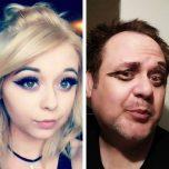 Selfie Wahnsinn Vater veräppelt seine Tochter