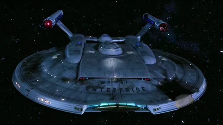 Star Trek ENTERPRISE II Der Anfang vom Ende captain jonathan archer scifi fan film raumschiff warp