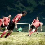 Extrem Sport Alpin Soccer: Steilhangfußball in den Alpen