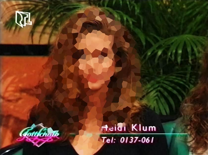 So sah Heidi Klum damals bei ihrem ersten TV Auftritt aus