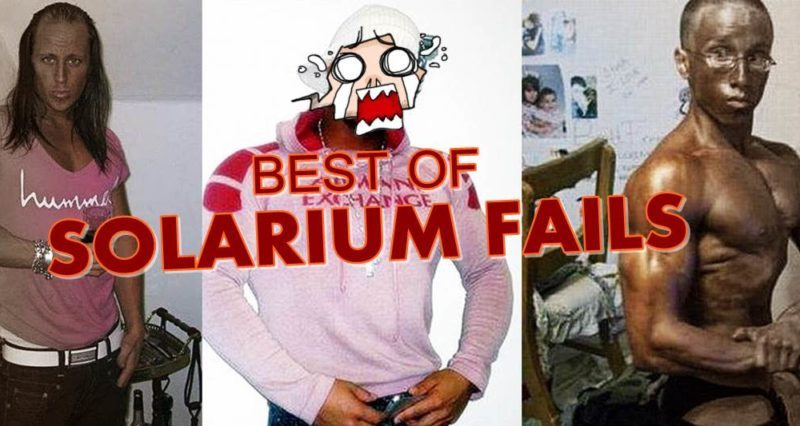 Solarium Fails – Tanning Fails. Die ultimative Sammlung der besten Solarium fails