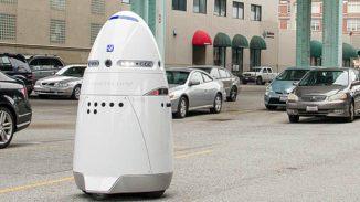 Sicherheitsroboter ertränkt sich selbst in einen Brunnen