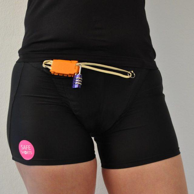 safe shorts SafeShortsHose vorne schutz vor vergewaltigung zu geschlossen