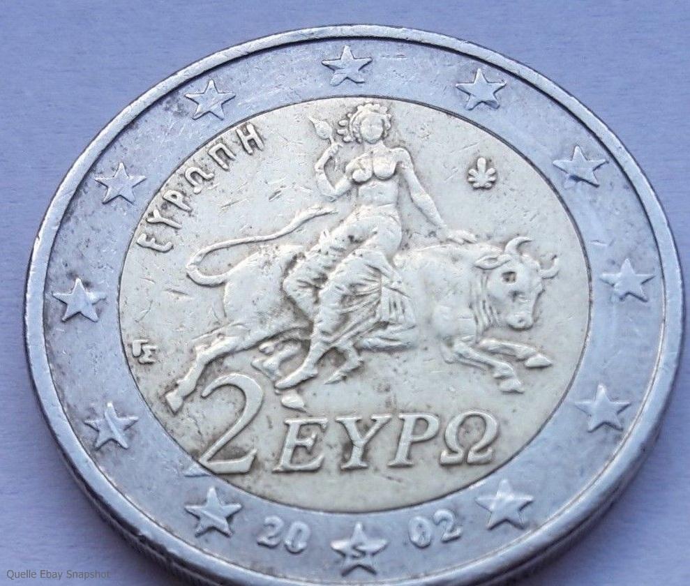 Ebay 100000 Euro für zwei 2 Euro Münzen