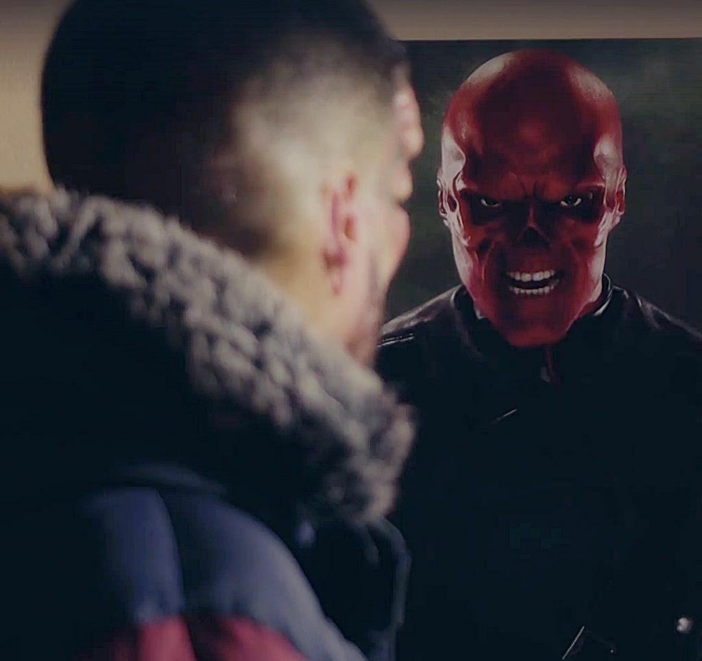 Der echte Marvel Schurke Red Skull
