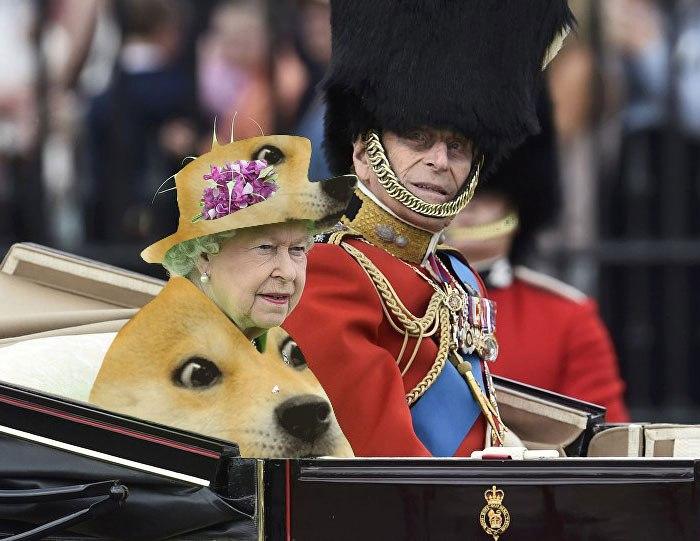 Die Königin als Meme 2019