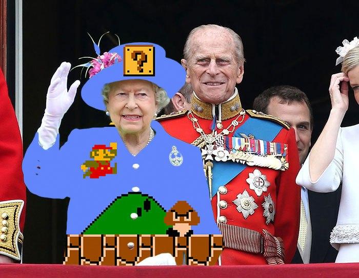 Queen Green Screen Die Königin als Meme