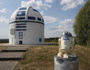 R2D2 bewacht das Oberservatorium in Zweibrücken