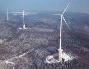 Größtes Windrad der Welt mit Wasserbatterie
