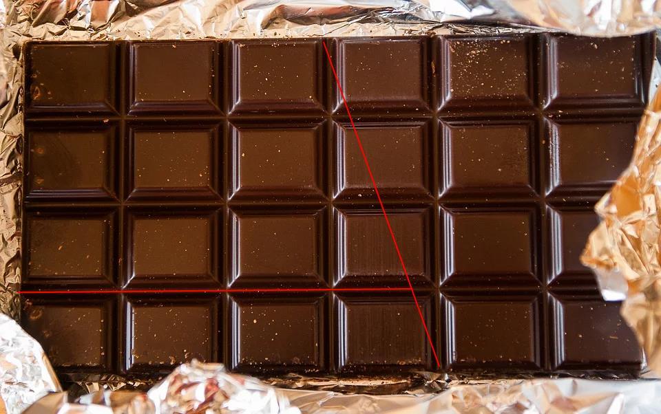 Heimlich Schokolade klauen ohne das es einer merkt. Mathematik zum vernaschen