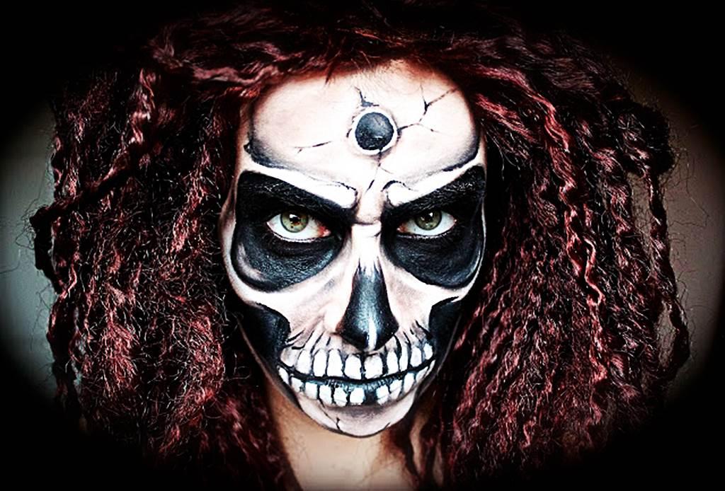 Gruselige Halloween Makeups und Schminkideen für ein gruseliges Halloween